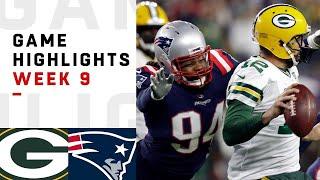 Packers vs. Patriots Week 9 Highlights   NFL 2018