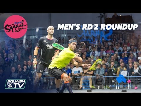 Squash: Open de France - Nantes 2019 - Men's Rd 2 Roundup