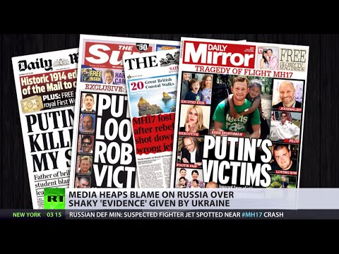 'All eyes on Putin': prejudice, speculation & more around MH17 investigation