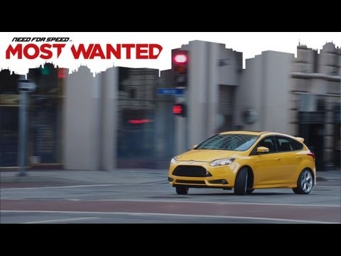 Need for Speed: Most Wanted - Une publicité Live-Action déroutante