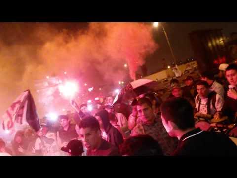 Juventud rosada banderazo 27/07/15 - Barra Popular Juventud Rosada - Sport Boys