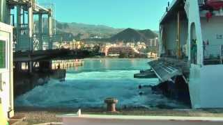 La Gomera Spain  City new picture : Ferry Fred Olsen from Tenerife to La Gomera, Spain