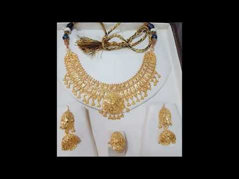 Bridal jewelry Set Gold Rings Designs