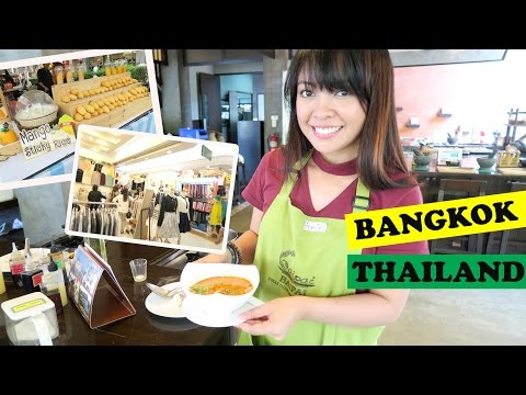 THAILAND VLOG Part 2 (Cooking Class, Hostel Tour, Siam Paragon And More!) | Gen-zelTV