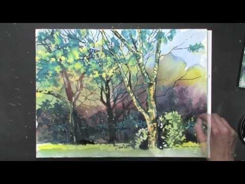 Bettags-Malschule – Landschaften in Aquarell
