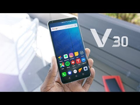 LG V30: Top 5 Features!