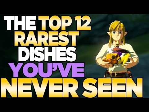 TOP 12 RAREST Recepies YOU'VE NEVER COOKED Breath Of The Wild Zelda Cooking | Austin John Plays