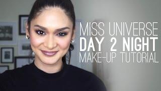 Video Miss Universe 2015, Pia Wurtzbach: Day 2 Night Make Up Tutorial MP3, 3GP, MP4, WEBM, AVI, FLV Juni 2018