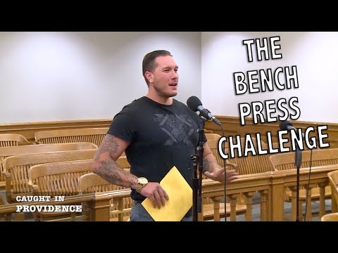 A Feisty 93 year old, The Bench Press Challenge, and Convicted Myself.