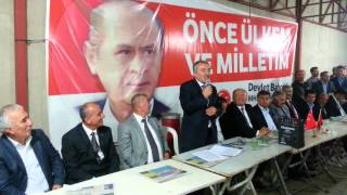 MHP KADİRLİ'DE ÖMER TARHAN YENİDEN ADAY GÖSTERİLDİ