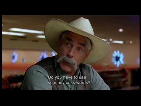 "【SPOILERS】The Big Lebowski (clip 14 -part 3) ""Do you have to use so many cuss words?"""