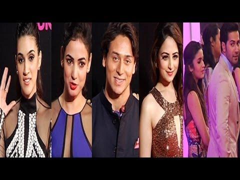 Tiger Shroff ,Kriti Sanon & Others At The Big Life OK Now Awards 2014