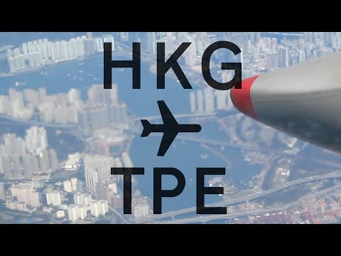 China Airlines Trip Report | Hong Kong To Taipei ✈ HD