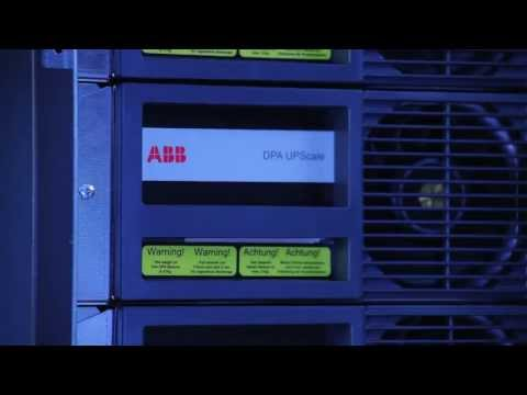 ABB Modular UPS - A first-class performance without any drama