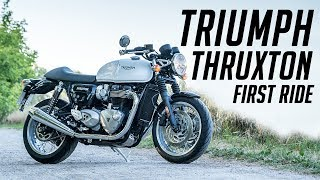 4. 2018 TRIUMPH THRUXTON // FIRST RIDE & REVIEW
