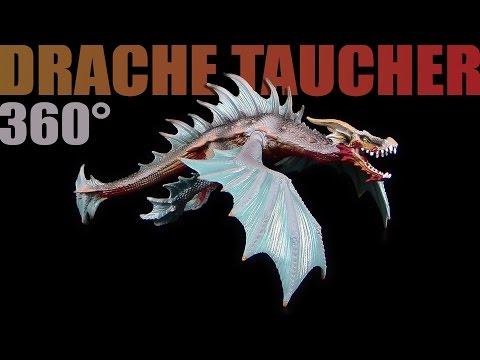 Schleich ® Drache Taucher / Dragon Diver - 360°