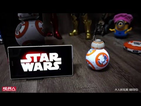Sphero【Star Wars 星球大戰】|BB-8 App-Enabled Droid 開箱