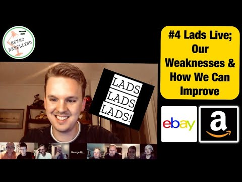 Reseller Lads Live! #4 - Weaknesses & How To Improve On Them