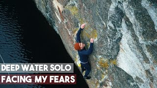 Winter Deep Water Solo In Norway - Facing My Fears - Climbing - Magnus Midtbø by Eric Karlsson Bouldering