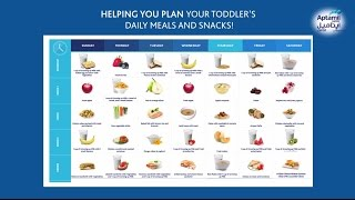 weekly meal plans for your child by aptamil junior