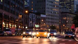 Beachfront B-Roll: NYC Traffic Time Lapse (Free to Use HD Stock Footage)
