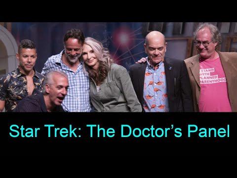 The Doctors Panel at Star Trek Las Vegas - 8-3-19 - Gates Mcfadden, Robert Picardo, Alexander Siddig