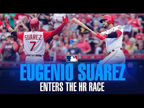 Video: Eugenio Suárez - Reds slugger SNEAKS into HR Race, chases 50 home runs