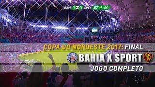 Copa do Nordeste 2017 Final - Jogo de Volta Itaipava Arena Fonte Nova, Salvador, Bahia.