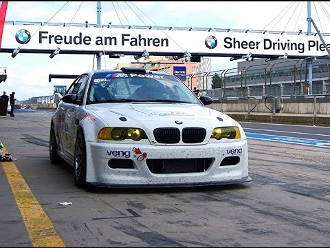 Fastest Nürburgring Nordscleife lap with foot cam ESS Supercharged BMW M3