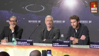 Independence Day 2 - full press conference Berlin (2016) Liam Hemsworth Jeff Goldblum by Movie Maniacs
