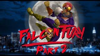 Captain Falcon brings down the 20XX empire