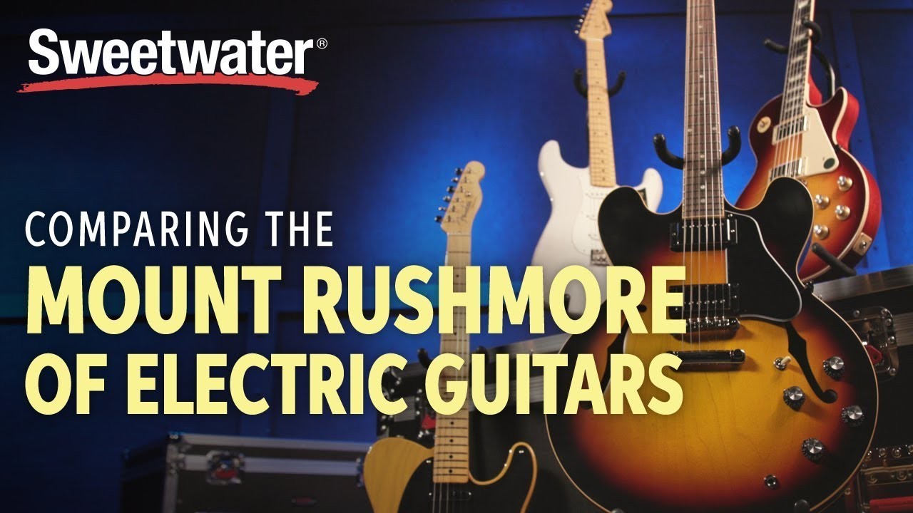 The Mount Rushmore of Electric Guitars