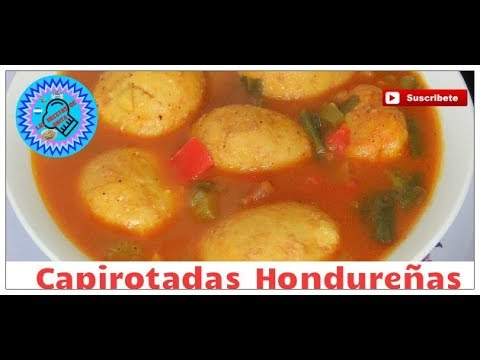 capirotadas  Hondureñas, las recetas de anita