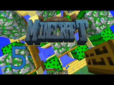 """Minecraft: SMP HOW TO MINECRAFT #5 """"AUTOMATIC CACTUS FARM"""" with JeromeASF"""