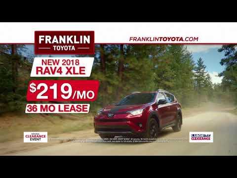 Franklin Toyota - Labor Day - SUV - Truck