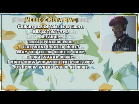 Supa Bwe - Fool Wit It (freestyle) (feat. Chance the Rapper) [Lyric Video]