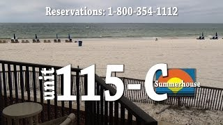 Unit 115-C Summerhouse Panama City Beach Vacation Condo