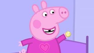 Peppa Pig English Episodes - Peppa and the Toothfairy! Peppa Pig Official
