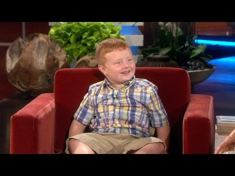 Ellen Meets The 'Apparently' Kid, Part 2