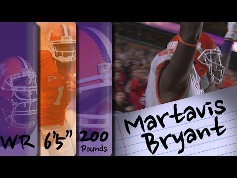 Martavis Bryant Official 2013 Highlights video.