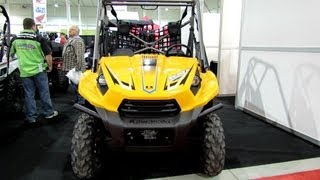 7. 2013 Kawasaki Teryx 750 Sport - Side by Side ATV - 2012 Salon National du Quad - Laval, Quebec