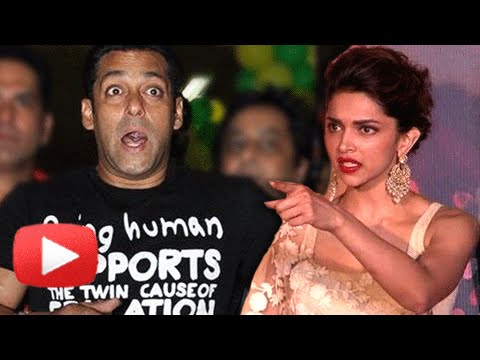Deepika Padukone WALKS OUT Of Salman Khan Movie