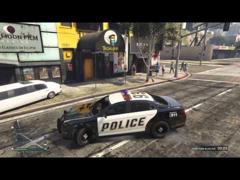 LETS BE COPS ON GTA5 (GTA FUNNY MOMENTS)