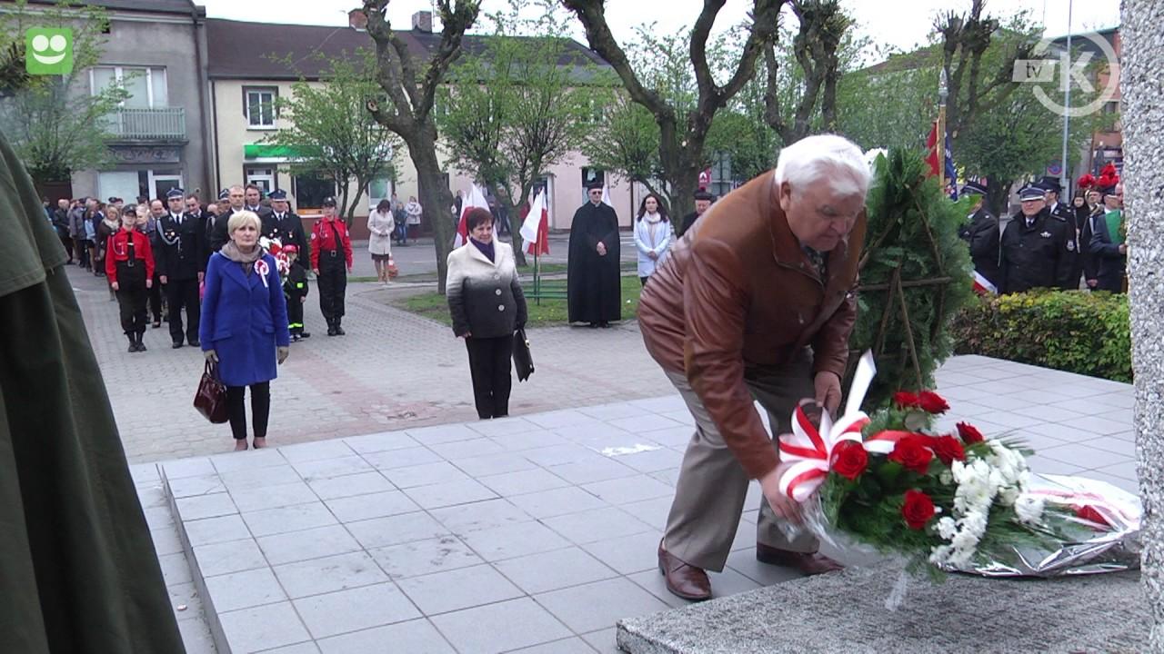 Obchody 226 rocznicy Konstytucji 3-go Maja w Kłodawie