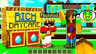 I Met a RICH KID Who is a OWNER of a RICH Daycare.. Inside Will Shock You..