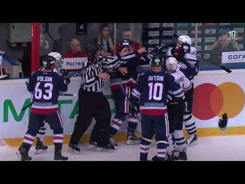 Горячая концовка матча в Нижнекамске (видео)