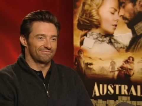 Australia star Hugh Jackman talks about the perfect  kiss Video