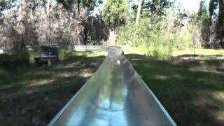 Merimbula Australia  city pictures gallery : Toboggan Run Alpine Slide POV Magic Mountain Merimbula Australia Wiegand