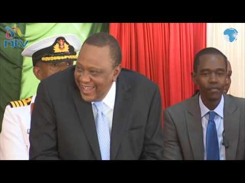 MP Oscar Sudi cracks up President Uhuru with his speech at Rivatex EA