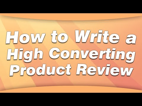Amazon Affiliate Product Reviews that Convert